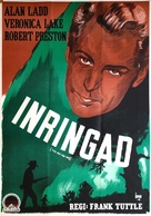 This Gun for Hire - Swedish Movie Poster (xs thumbnail)