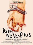 Rien ne va plus - French Movie Poster (xs thumbnail)