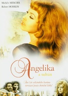 Angélique et le sultan - Czech DVD cover (xs thumbnail)