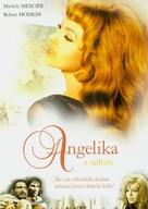 Angélique et le sultan - Czech DVD movie cover (xs thumbnail)