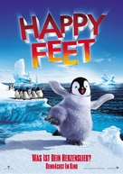 Happy Feet - German Movie Poster (xs thumbnail)