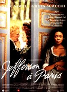 Jefferson in Paris - French Movie Poster (xs thumbnail)