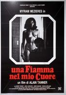 Une flamme dans mon coeur - Italian Movie Poster (xs thumbnail)