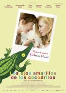 Les yeux jaunes des crocodiles - Spanish Movie Poster (xs thumbnail)