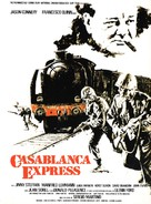 Casablanca Express - French Movie Poster (xs thumbnail)