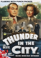 Thunder in the City - Movie Cover (xs thumbnail)