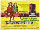 The World of Henry Orient - British Movie Poster (xs thumbnail)