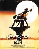 Il Casanova di Federico Fellini - French Movie Poster (xs thumbnail)