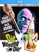 Die, Monster, Die! - Blu-Ray movie cover (xs thumbnail)