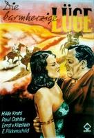 Die barmherzige Lüge - German Movie Poster (xs thumbnail)