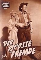 The Tall Stranger - German poster (xs thumbnail)