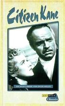 Citizen Kane - German VHS movie cover (xs thumbnail)