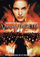 V for Vendetta - French DVD movie cover (xs thumbnail)