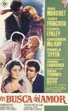 The Pleasure Seekers - Spanish Movie Poster (xs thumbnail)