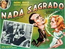 Nothing Sacred - Mexican poster (xs thumbnail)