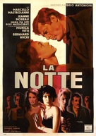 La notte - Italian Movie Poster (xs thumbnail)