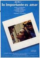 L'important c'est d'aimer - Spanish Movie Poster (xs thumbnail)