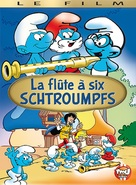 La flûte à six schtroumpfs - French DVD cover (xs thumbnail)