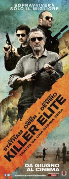 Killer Elite - Italian Movie Poster (xs thumbnail)