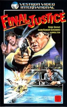 Final Justice - German VHS cover (xs thumbnail)
