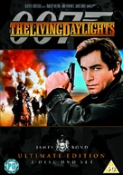 The Living Daylights - British DVD movie cover (xs thumbnail)