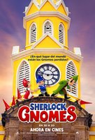 Sherlock Gnomes - Colombian Movie Poster (xs thumbnail)