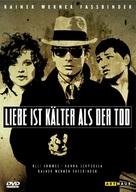 Liebe ist kälter als der Tod - German DVD cover (xs thumbnail)