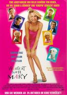 There's Something About Mary - German Movie Poster (xs thumbnail)