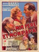 Mon père et mon papa - French Movie Poster (xs thumbnail)