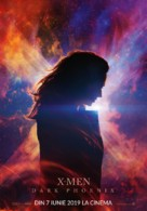 X-Men: Dark Phoenix - Romanian Movie Poster (xs thumbnail)