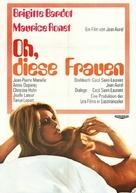 Les femmes - German Movie Poster (xs thumbnail)