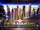 The Fifth Element - British Advance movie poster (xs thumbnail)