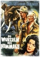 The Roots of Heaven - German Movie Poster (xs thumbnail)