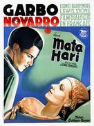 Mata Hari - French Movie Poster (xs thumbnail)