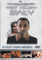 Trzy kolory: Bialy - Polish DVD movie cover (xs thumbnail)