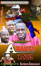 Ananse: Spider Man 1 - Ghanian Movie Cover (xs thumbnail)