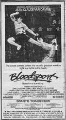 Bloodsport - poster (xs thumbnail)
