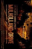 Mulholland Dr. - Italian Movie Poster (xs thumbnail)