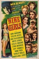 Nine Girls - Movie Poster (xs thumbnail)