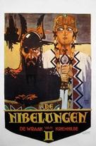 Die Nibelungen: Kriemhilds Rache - Dutch Movie Poster (xs thumbnail)