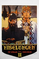 Die Nibelungen: Kriemhilds Rache - Dutch Movie Poster (xs thumbnail)