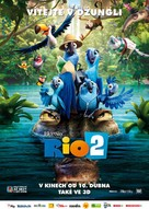 Rio 2 - Czech Movie Poster (xs thumbnail)