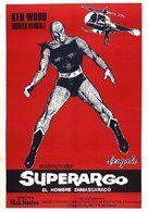 Superargo contro Diabolikus - Italian Movie Poster (xs thumbnail)