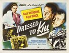 Dressed to Kill - Movie Poster (xs thumbnail)