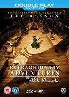 Les aventures extraordinaires d'Adèle Blanc-Sec - British Blu-Ray movie cover (xs thumbnail)