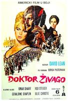 Doctor Zhivago - Serbian Movie Poster (xs thumbnail)