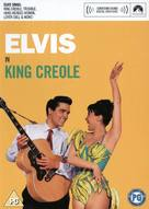 King Creole - British DVD cover (xs thumbnail)