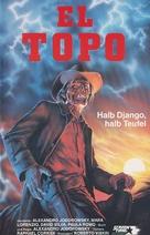 El topo - German VHS movie cover (xs thumbnail)