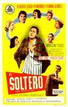 Scapolo, Lo - Spanish Movie Poster (xs thumbnail)