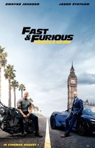 Fast & Furious Presents: Hobbs & Shaw - British Movie Poster (xs thumbnail)